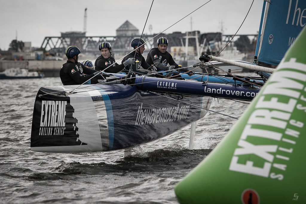 Extreme Sailing Series 2015, Hamburg